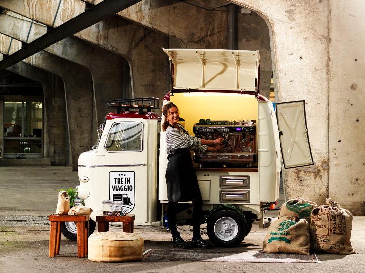 Baristabar / Koffietruck   Tre In Viaggio